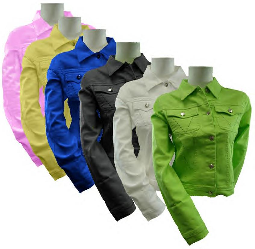 Colored Jean Jackets For Women - Coat Nj